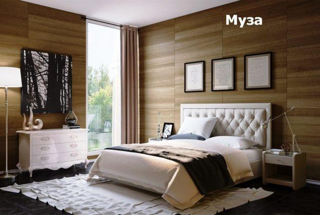 кровать муза