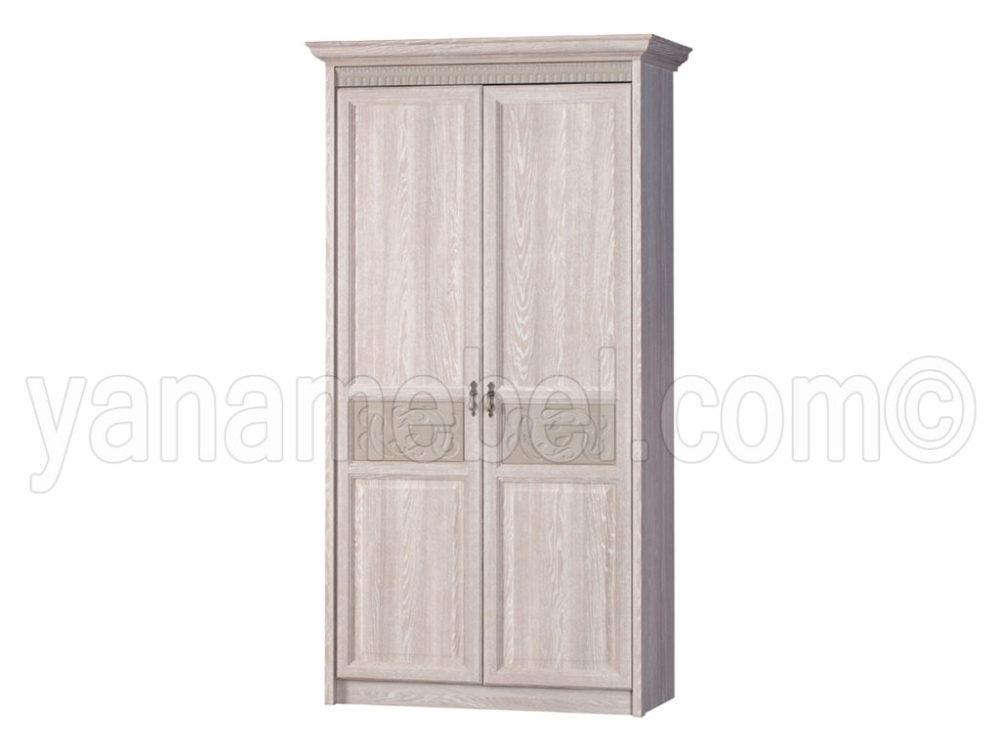 шкаф 2-х дверный лючия дуб оскфорд серый