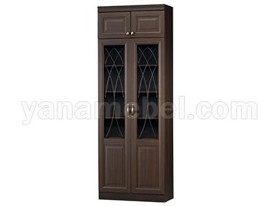 Диана мод.344 Шкаф для книг (Нортон темный)