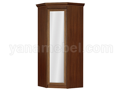 Лючия мод.183 Шкаф угловой с зеркалом (Дуб Оксфорд)
