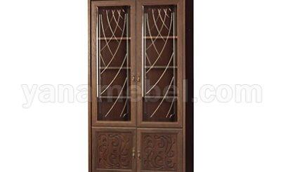 Лючия мод.184 Шкаф для книг (Дуб Оксфорд)