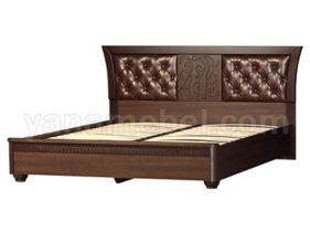 Лючия мод.198 Кровать 1600 (Дуб Оксфорд)