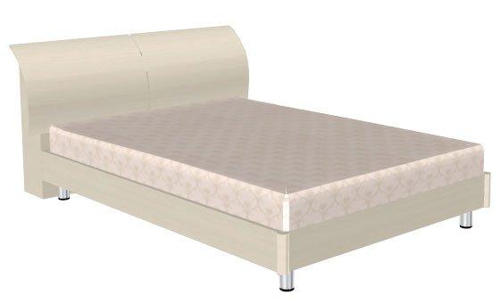 Кровать (сп.м.:1400х2000) КР-103, цвет Дуб Беленый