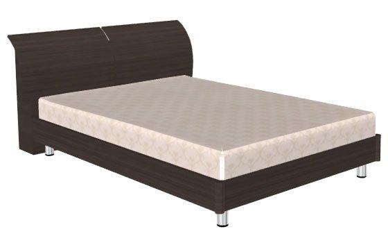 Кровать (сп.м.:1400х2000) КР-103 Цвет: Дуб Пасадена