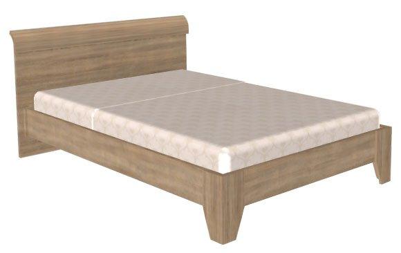 Кровать (сп.м.:1400х2000) КР-109