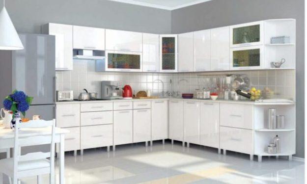 кухня Танго белый глянец