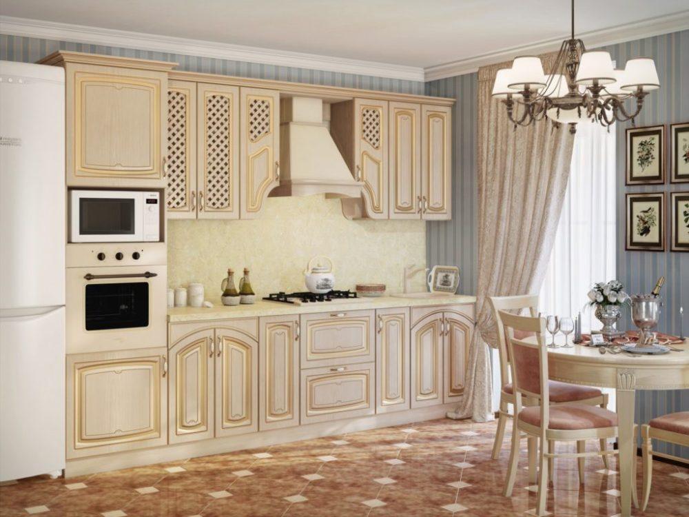 классические модульные кухни на кмв