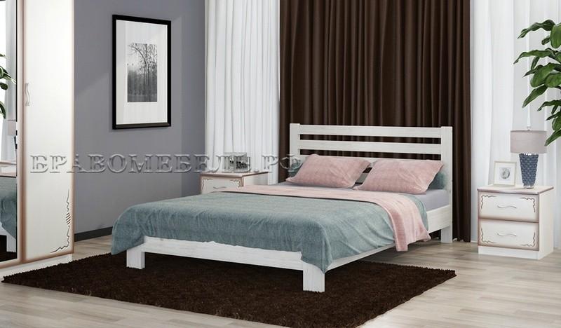 кровать вероника дуб белый
